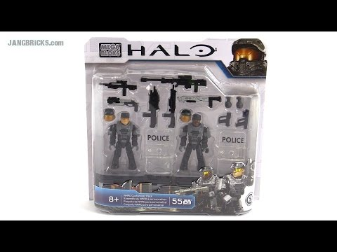 Mega Bloks Halo NMPD Customizer Pack review