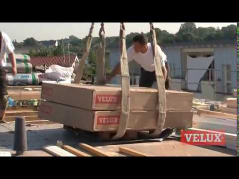 Velux Flachdach Fenster Projekt In Tornesch Youtube