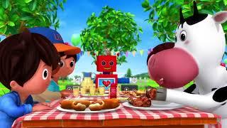 BBQ Song  | Kids Songs | PPSongs | Songs for Kids