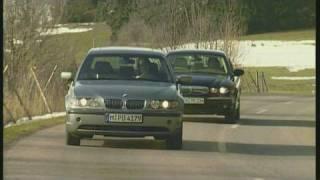 Jaguar X-Type D vs. BMW 320d Vergleich in der Diesel-Mittelk