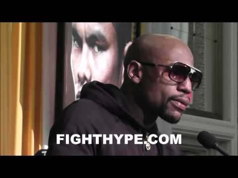 FLOYD MAYWEATHER ADDRESSES MANNY PACQUIAO QUESTIONS HES NOT DOING SOMETHING RIGHT