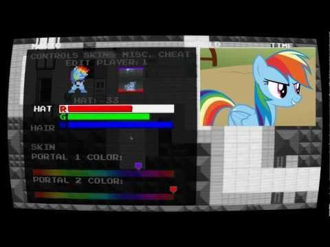 Let's Play Mari0 Rainbow Dash Style [Bonus Episode]