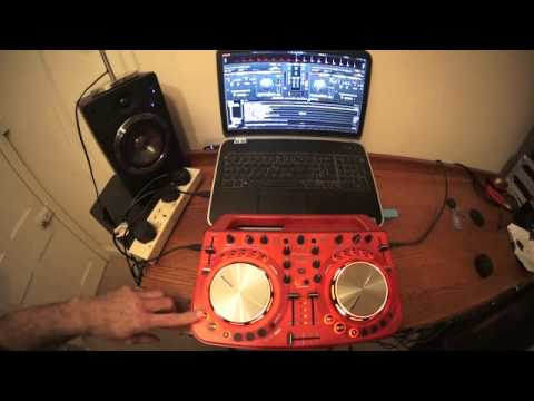 DJ LESSON HOW TO MIX USING THE PIONEER WEGO2 AND VIRTUAL DJ