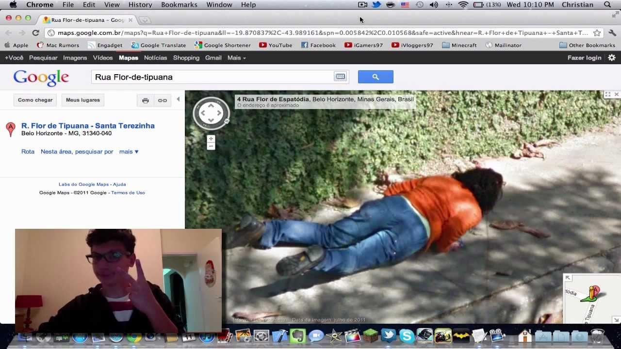 Google maps funny