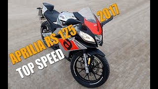 Aprilia RS4 125 2017 Top speed
