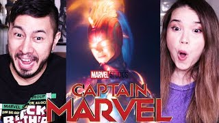 CAPTAIN MARVEL | Trailer #2 | Reaction!
