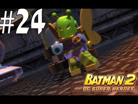 Lego Batman 2 - Unlocking Killer Moth and Batgirl