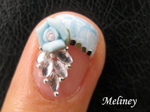 no Water Marble Nails French