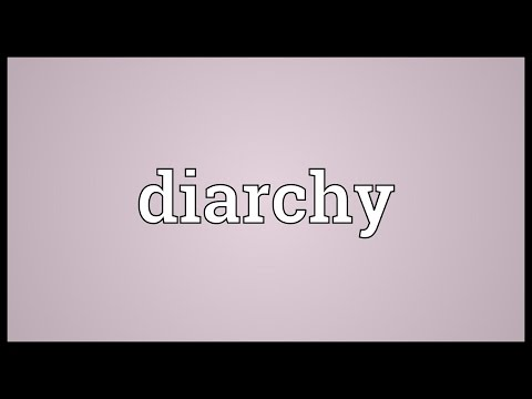 Header of diarchy