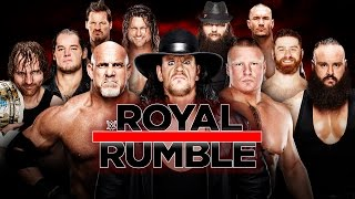 Download WWE ROYAL RUMBLE 2017 ORAKEL 🏟 ROYAL RUMBLE MATCH • WWE 2K17 3Gp Mp4