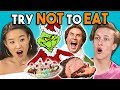 Try Not To Eat Challenge - Holiday Movies | Teens & College K...