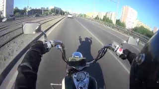 Покатушки на Honda Shadow A.C.E. VT 400