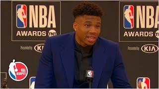 Giannis promised himself he wouldn't get emotional in MVP speech | 2019 NBA Awards
