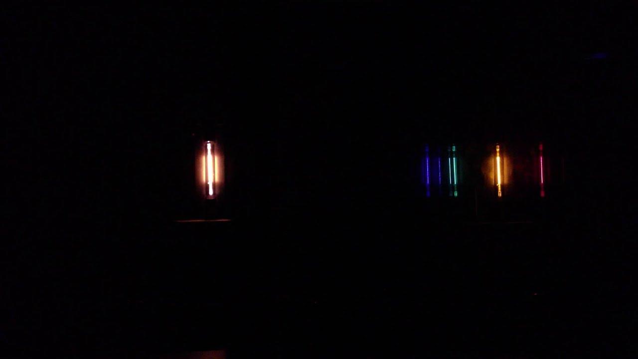 Atomic Line Emission Spectrum Bright Line Emission Spectrum