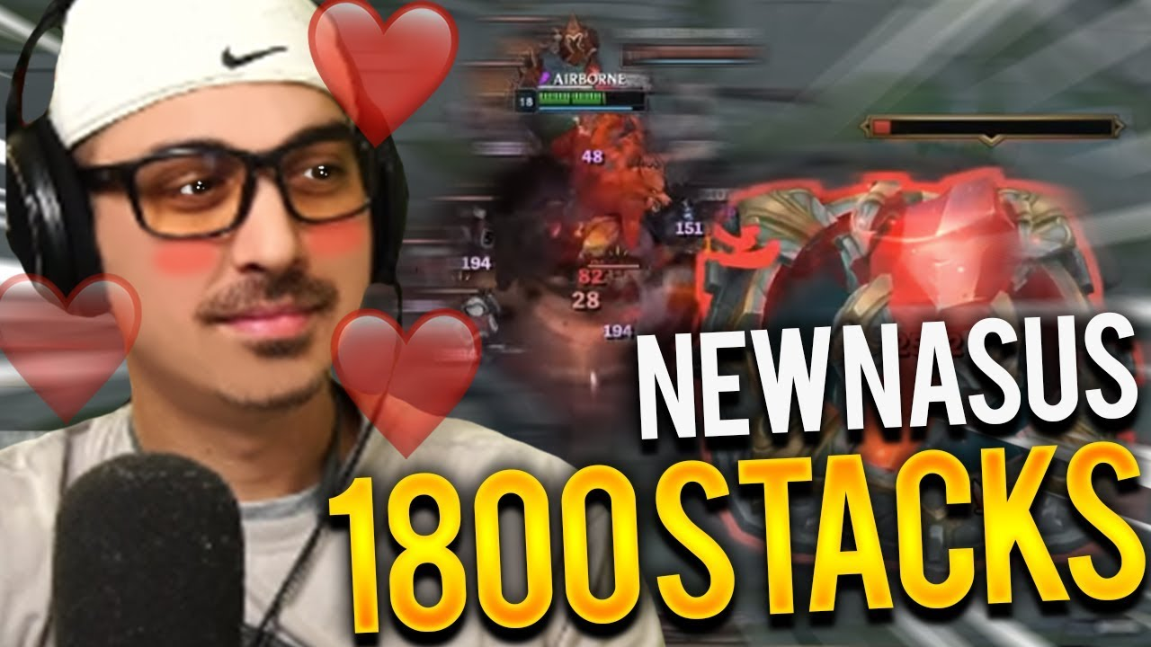 1800 STACKS NASUS JUNGLE | NEW NASUS IS BROKEN - Trick2G