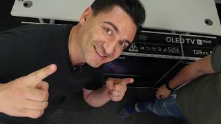 Cel mai accesibil OLED - LG OLED 55B8PLA - [UNBOXING & REVIEW]