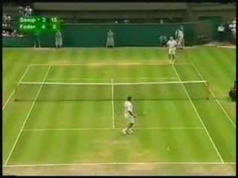 Federer Backhand Video