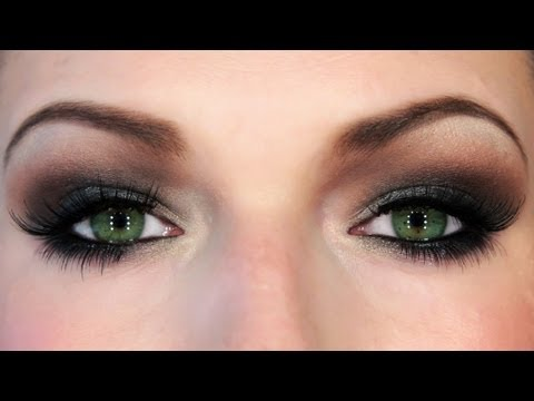 BRANDY Put It Down Music Video Makeup Tutorial Intense Smokey Eyes