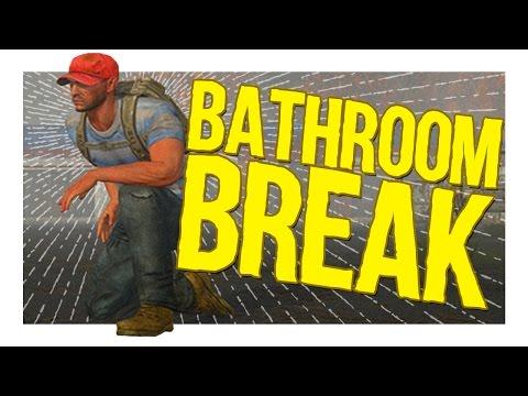 Bathroom Break  │ H1Z1 King of the Kill Funny Moments
