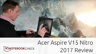 Acer Aspire V15 Nitro Black gaming review. GTX 1060. 2017