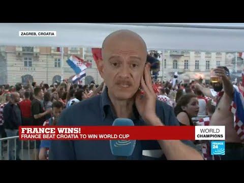 World Cup 2018: Croatians party despite defeat