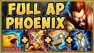 WTF!? REBORN PHOENIX FULL AP UDYR IS 100% NUTTY! FULL AP UDYR S9 TOP GAMEPLAY! - League of Legends