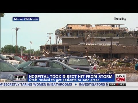 Moore Medical's direct tornado hit