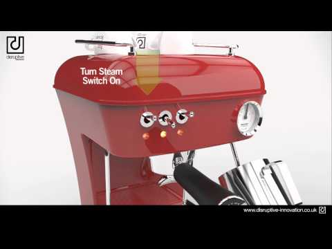 Ascaso Dream Up - Product Animation - Commercial Example