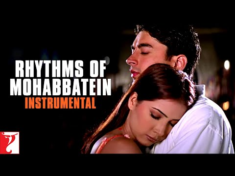 Rhythms Of Mohabbatein (Instrumental) | Uday | Jugal | Jimmy | Shamita| Kim | Preeti
