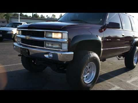 1999 Chevy Tahoe Yukon 4x4 AWD Lifted 16.5 For Sale