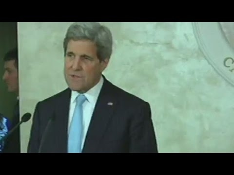 Kerry: You can not have a one-sided peace