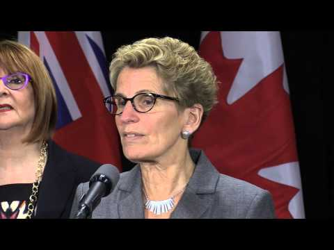 Premier Kathleen Wynne March 2015 video cover image
