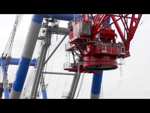 Transport Offshore Crane