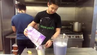 How to make dat TARO MILK TEA