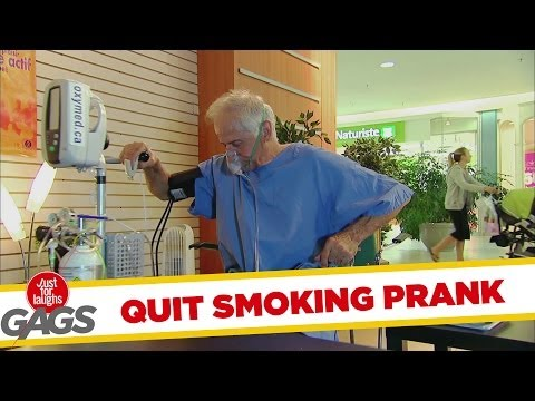 Quit Smoking Prank