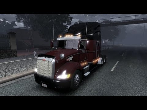 ETS 2 1.5.2.1s DLC / Peterbilt 386 v1.0 / TSM Map 4.1.1 / Обзор / Оригинал