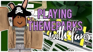 Download Lagu PLAYING THEMEPARKS WITH FANS   Jamie ThatBloxer Gratis STAFABAND