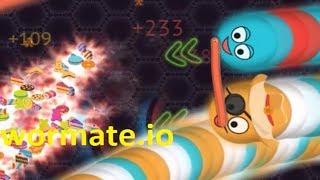 Wormate.io #114   Trò chơi rắn săn mồi   Game rắn săn mồi