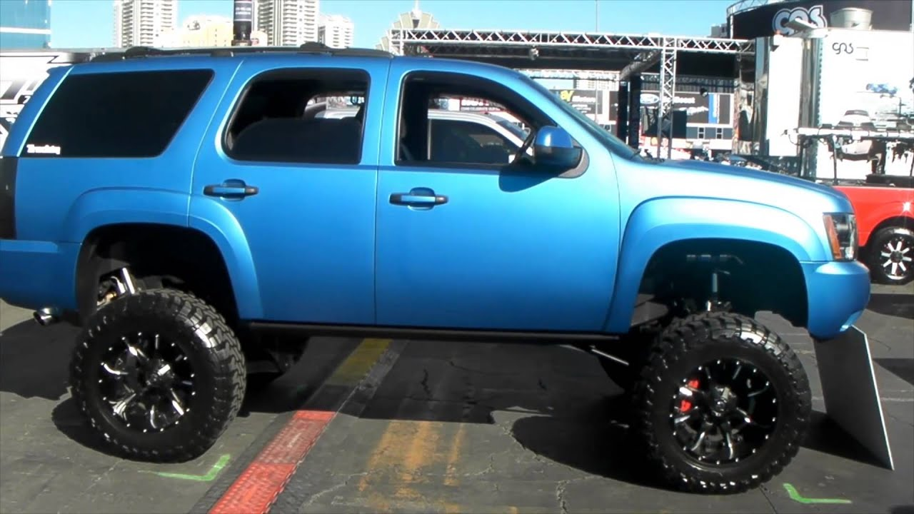 DUBSandTIRES.com lifted Chevy Tahoe Review Mud Terrain ...