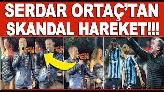 Serdar Ortaç'tan Beşiktaş Adana Demirspor maçı hakkında skandal hareket!