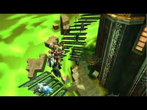 Guild Wars 2 - Mad King's Clock Tower Jumping Puzzle, Halloween Event