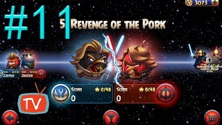 Angry Birds Star Wars 2 - Part 11 Revenge Of The Pork - Birds Side Gameplay Walkthrough