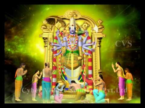 Srinivasa Govinda  - 3D Animation God Songs ( Hare Krishna Vishnu...