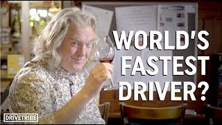 James May recounts reaching 259 mph in the Bugatti Veyron SS