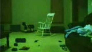 REAL Ghost In A Rocking Chair!!!