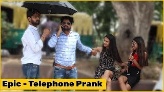 Epic Telephone Prank on Cute Girls | The HunGama Films