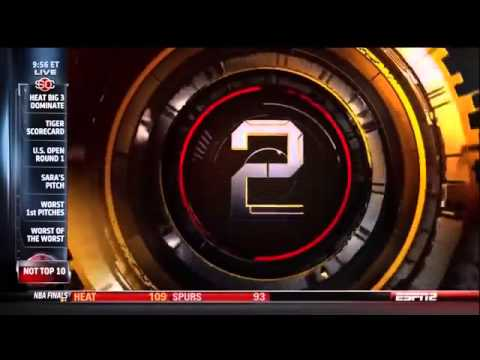 Espn Sportscenter's Not Top Ten   06 14 13 video
