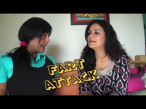 Funniest Video Ever - (fart Attack)   - Chutki  Interviews Mona Singh ( Jassi ) video