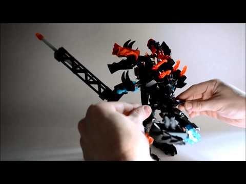 Set Review: Jaw-Flyer-Splitter Beast Combiner (Hero Factory 2014)