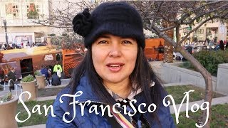 San Francisco Vlog - Union Square & Civic Center During The Holiday Season